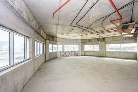 Office for Rent in Al Garhoud, Dubai - Available | Combined Floors | Shell and Core