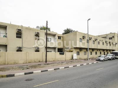 Labour Camp for Rent in Industrial Area, Sharjah - Prime  Location near to chueifat School, opposite to Far Eastern Private School, 30 Rooms Labour Camp in Ind. Area No. 6,