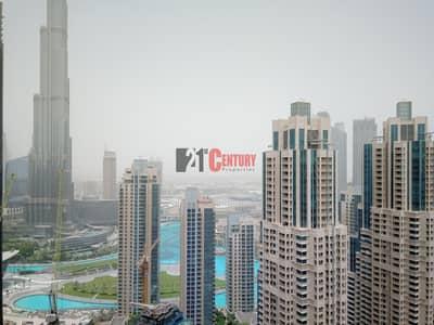 3 Bedroom Apartment for Rent in Downtown Dubai, Dubai - Brand New l 3 + Maid l Burj Khalifa - Boulevard View