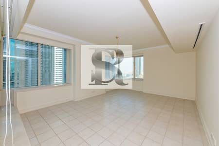 3 Bedroom Flat for Rent in Dubai Marina, Dubai - Spacious Partial Marina View| 3BR + Maid | Unfurnished
