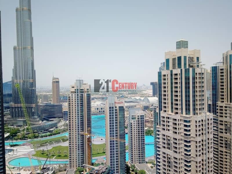 Brand New l 3 + Maid l Burj Khalifa & Fountain View