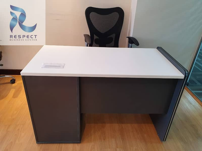 2 Desk space with Ejari  / DED Aproved  / One Year Validity