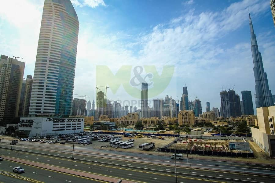 10 New to the market - 1 BR Apt -Burj Khalifa view