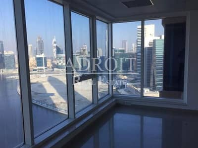 مکتب  للبيع في الخليج التجاري، دبي - High Floor | Spacious  Fitted Office In Churchill Tower 1
