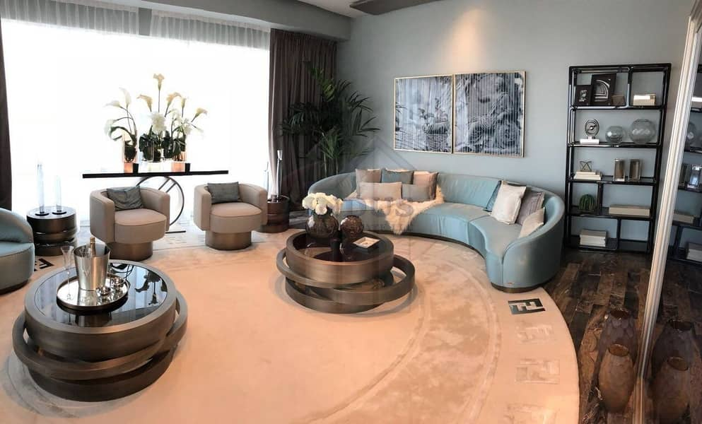 Ready to move-in luxury apartments |  Upto 5 Years Payment Plan | Luxury Fendi Style
