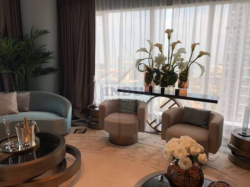 2 Ready to move-in luxury apartments |  Upto 5 Years Payment Plan | Luxury Fendi Style