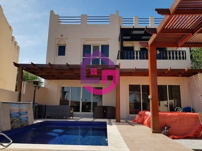 3 Bedroom Townhouse for Rent in Al Hamra Village, Ras Al Khaimah - UPGRADED 3 BED TOWNHOUSE WITH POOL & JACUZZI