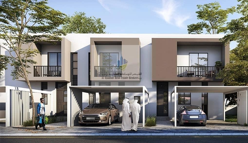 Your villa on University Street in installments of 1%