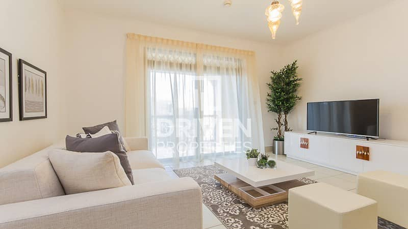 Furnished 2 Bedroom Unit with Study Room