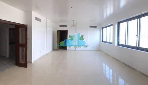فلیٹ 3 غرف نوم للايجار في الخالدية، أبوظبي - HUGE 3BR plus maid-room.Remarkable Value.Hurry!