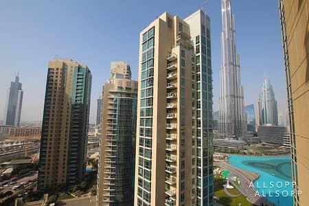 2 Bedroom Flat for Rent in Downtown Dubai, Dubai - Two Bed | Burj Khalifa View | High Floor