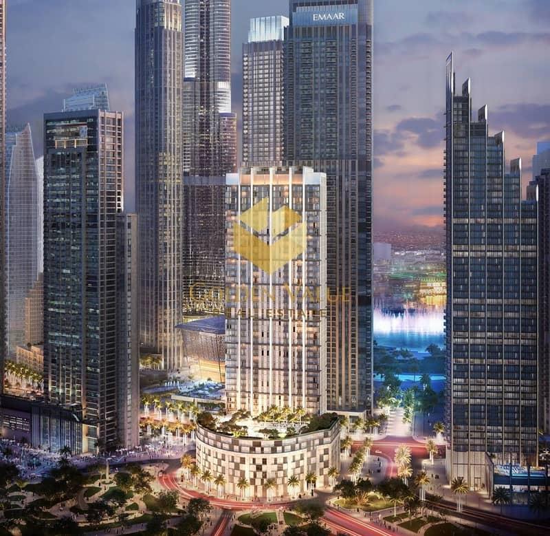 2 Infront of Burj Khalifa  l 2BR Apartment