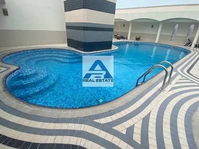 Two beds with Pool & Gym near Wahda Mall