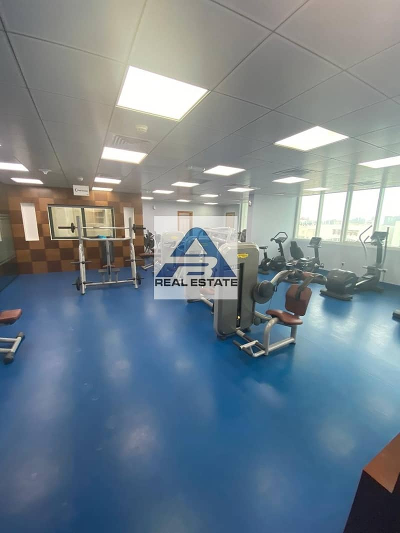 2 Two beds with Pool & Gym near Wahda Mall