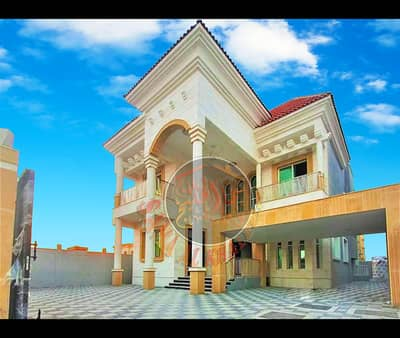 5 Bedroom Villa for Sale in Al Rawda, Ajman - Modern villa 5 rooms master with an area of ​​5200 feet for sale