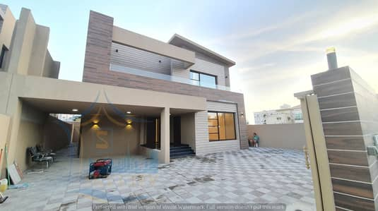Modern villa at an attractive price large area without down payment first Spanish finishing