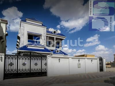 New villa with two floors in Ajman - finishing Super Deluxe: -
