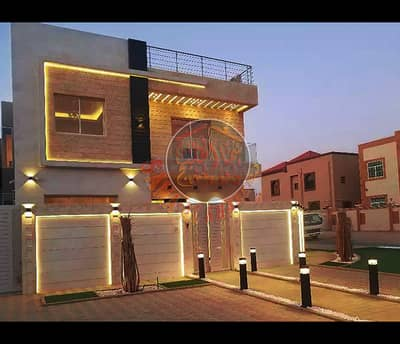 New stunning villa for sale in Ajman- great facade -FREE HOLD
