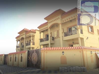The most luxurious villas for sale in Ajman, a sophisticated finishing and wonderful decor with the finest materials