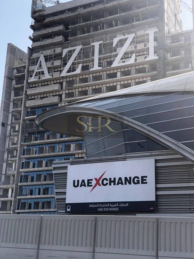 2 Elegant  1 Bed Apt in Jabal Ali Next To Metro By Azizi