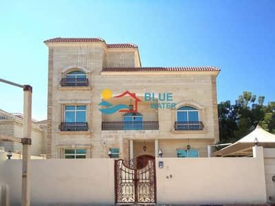فیلا 6 غرف نوم للايجار في بين الجسرين، أبوظبي - 6 Bedroom Villa |Private Pool|Garden|6 parking