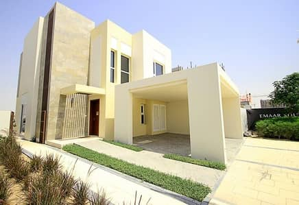 4 Bedroom Villa for Sale in Dubai South, Dubai - Golf course project by EMAAR|Pay Monthly 1% for 5 years|