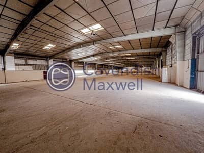 Warehouse for Rent in Al Quoz, Dubai - Columnless Warehouse I 191 KW I Easy Access