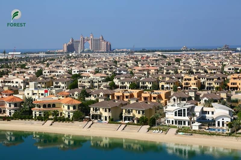 Mesmerizing Sea and Atlantis View | 2BR | Vacant