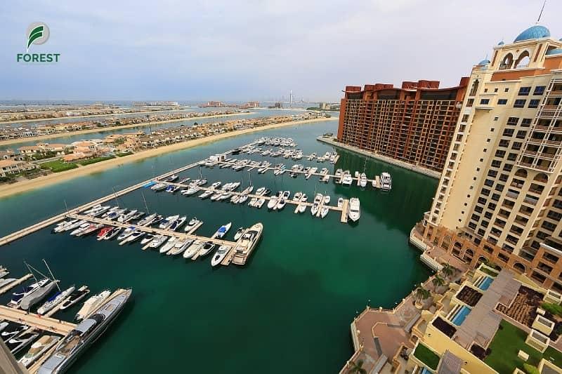 9 Mesmerizing Sea and Atlantis View | 2BR | Vacant