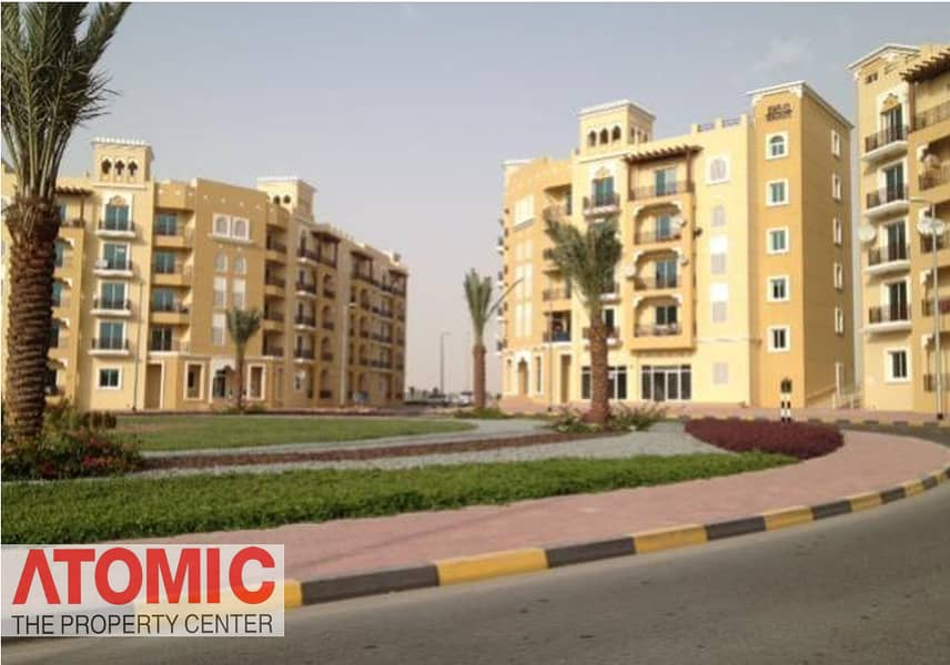 STUDIO FOR RENT IN EMIRATES CLUSTER WITH BALCONY