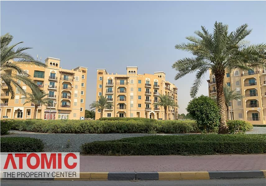 2 STUDIO FOR RENT IN EMIRATES CLUSTER WITH BALCONY