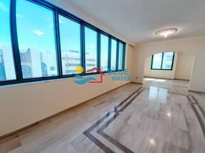 3 Bedroom Apartment for Rent in Corniche Area, Abu Dhabi - NO Commission 3 Master BED With Maid Room Khalidiya