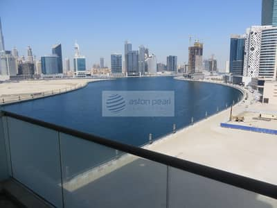 Studio for Sale in Business Bay, Dubai - Burj Khalifa and Canal Views | Studio with Balcony
