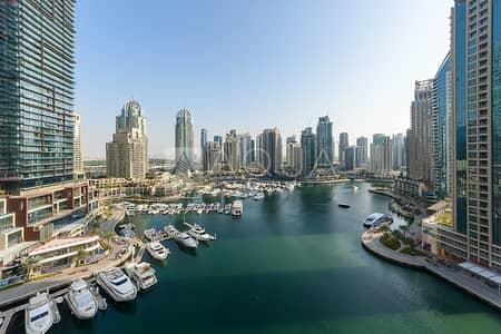 2 Bedroom Flat for Sale in Dubai Marina, Dubai - Fantastic Full Marina View | Unfurnished | Vacant
