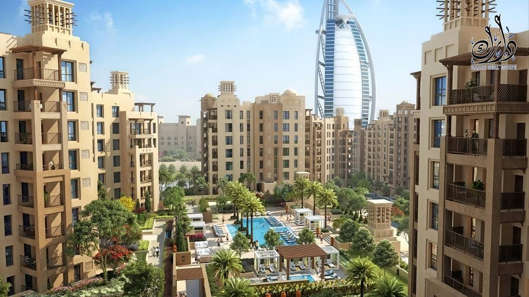 Freehold Apartment located in Jumeirah with 5% Down Payment Only !