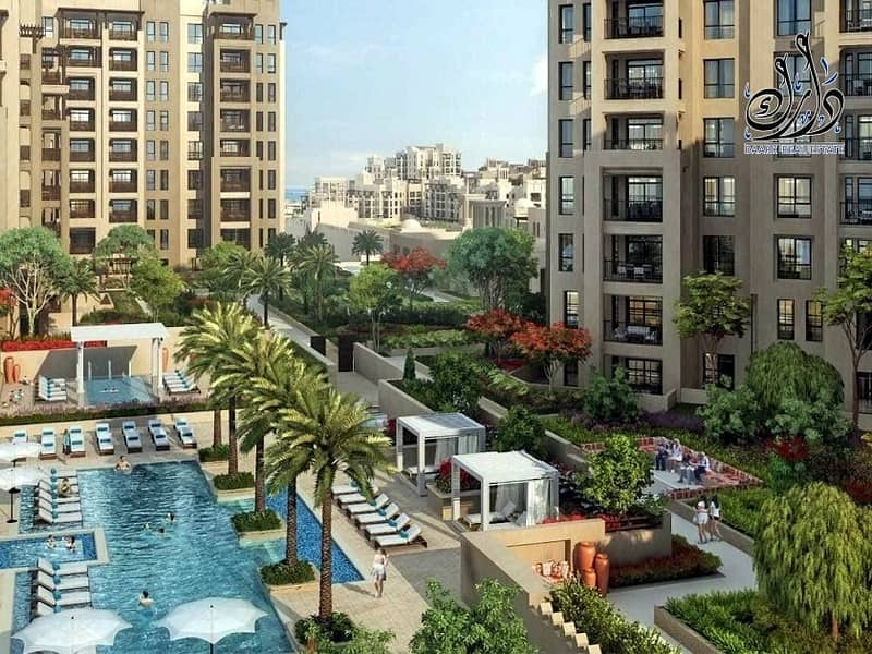 2 Freehold Apartment located in Jumeirah with 5% Down Payment Only !