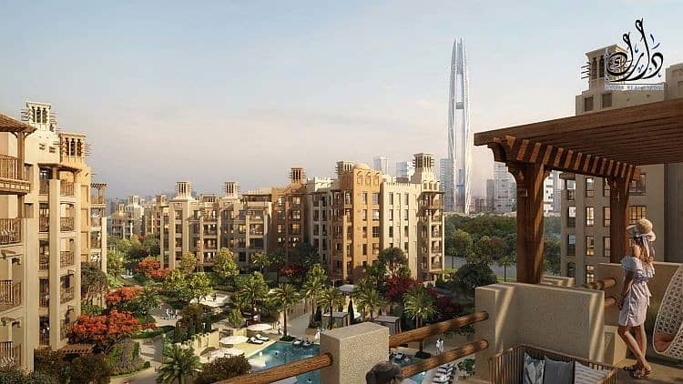 14 Freehold Apartment located in Jumeirah with 5% Down Payment Only !