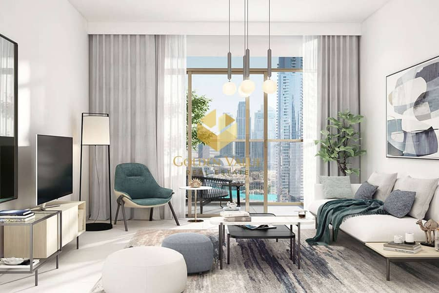 Infront of Burj Khalifa  l 2BR Apartment