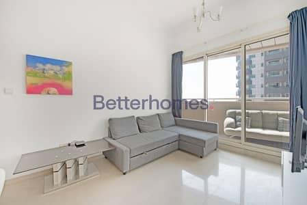 فلیٹ 1 غرفة نوم للايجار في دبي مارينا، دبي - Furnished | Vacant | Mid Floor | Well Maintained