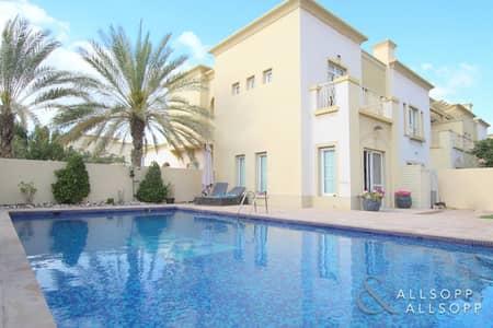 3 Bedroom Villa for Rent in The Springs, Dubai - Upgraded | Private Pool | Huge Plot 5700