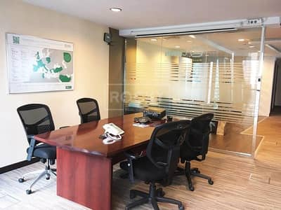Office for Rent in Jumeirah Lake Towers (JLT), Dubai - Fitted Office | with Partition | Indigo Icon