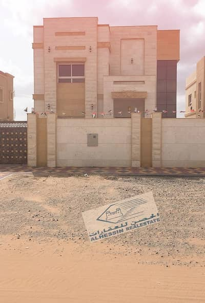 5 Bedroom Villa for Sale in Al Mowaihat, Ajman - Villa for sale in Moihat a very beautiful European design
