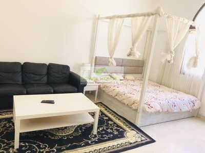 Studio for Rent in Khalifa City A, Abu Dhabi - Fully Furnished studio flat 3