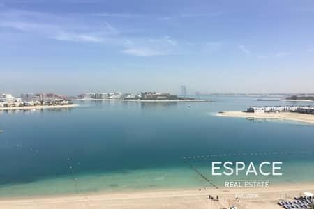 شقة 1 غرفة نوم للايجار في نخلة جميرا، دبي - Move in Now - Stunning Sea Views -Furnished
