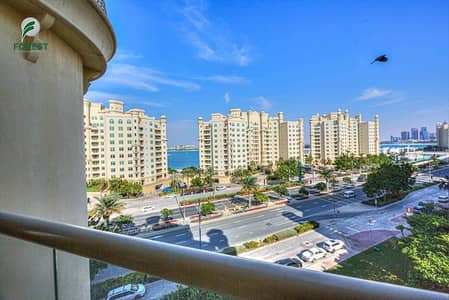 3 Bedroom Flat for Sale in Palm Jumeirah, Dubai - Fully Furnished 3 BR with Maids Room Sea view
