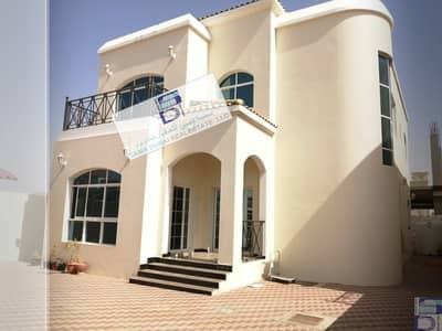 5 Bedroom Villa for Rent in Al Rawda, Ajman - villa for rent two-storey villa  The Rawda area, Ajman, is close to the main street , with an area of 5000 feet
