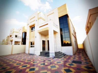 6 Bedroom Villa for Sale in Al Mowaihat, Ajman - Stone front villa is an appropriate space and economic price for freehold