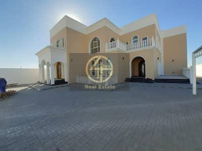 5 Bedroom Villa for Rent in Al Shamkha South, Abu Dhabi - Magic Villa 5BR+Maid Outside Majles&Out Kitchen