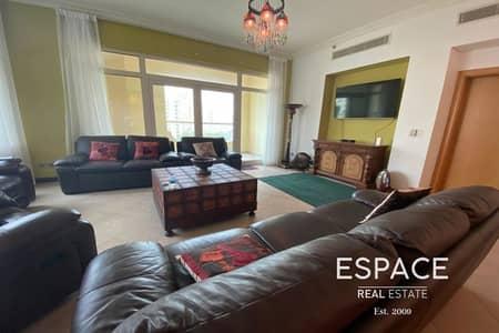شقة 3 غرف نوم للايجار في نخلة جميرا، دبي - Vacant | Keys with Me | Bright and Large