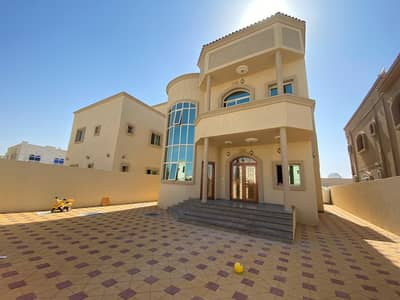 The best location in Ajman minutes to Sheikh Mohammed bin Zayed Street, a new villa, super deluxe, 5000 square feet